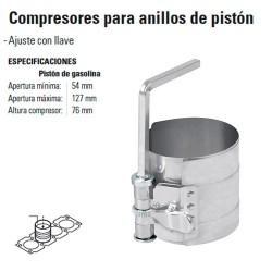 Compresores para Anillos de Pistón TRUPER