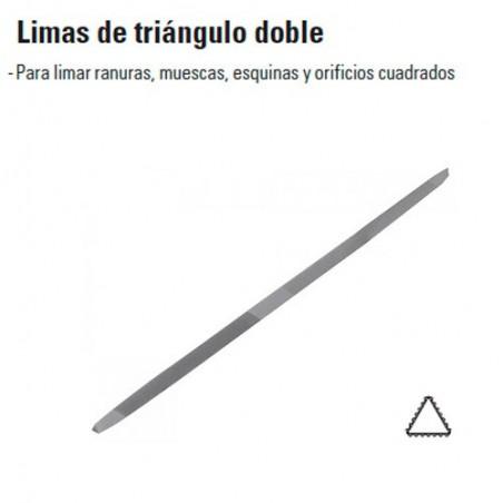 Limas de Triángulo Doble TRUPER