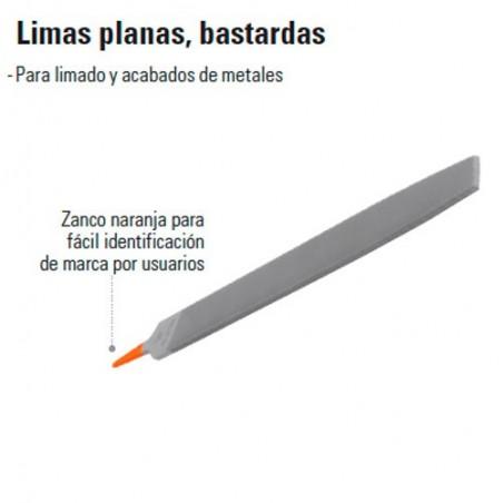 Lima Plana Bastarda TRUPER