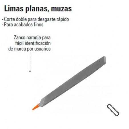 Lima Plana Muzas TRUPER