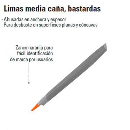 Lima Media Caña Bastardas TRUPER