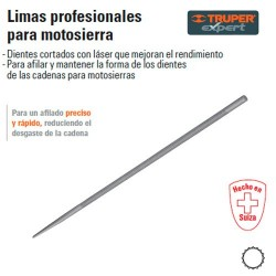 Lima Profesional para Motosierra TRUPER