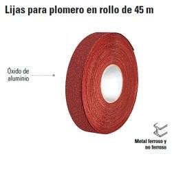 Lijas para Plomero en Rollo de 45 m TRUPER