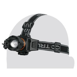 Linterna Para Cabeza Recargables 100 Lumenes Alta Luminosidad TRUPER