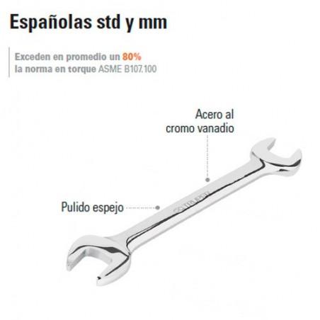 Llave Española STD y MM TRUPER