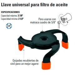 Llave Universal para Filtro de Aceite TRUPER