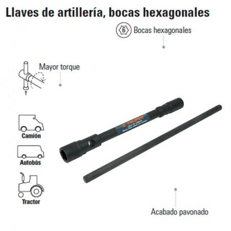 Llave de Artillería Bocas Hexagonales TRUPER