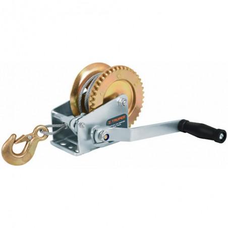 Malacate de Manivela con Cable TRUPER