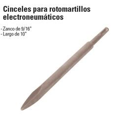 Cinceles para Rotomartillos Electroneumáticos TRUPER