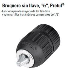 """Broquero sin Llave 1/2"""" PRETUL"""
