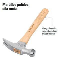 Martillo Pulido Uña Recta TRUPER