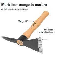 Martelinas Mango de Madera TRUPER