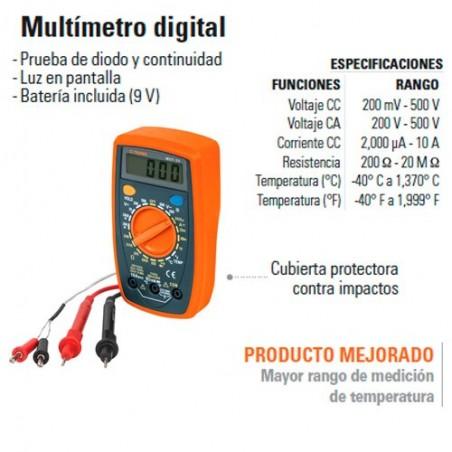 Multímetro Digital TRUPER