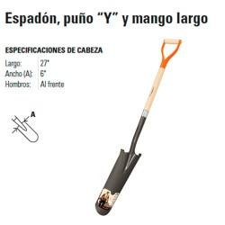 """Pala Espadón Puño """"Y"""" TRUPER"""