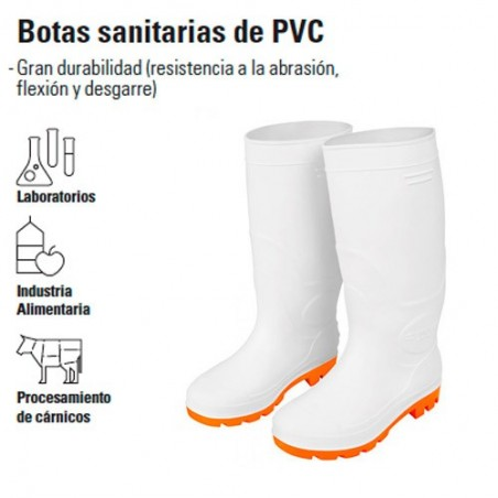 Botas Sanitarias de PVC TRUPER