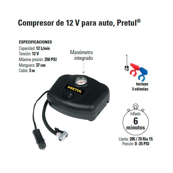 Compresor para Vehiculos PRETUL