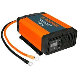 Inversor de Corriente Triple USB 1,500W TRUPER