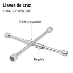Llave de Cruz Plegable TRUPER