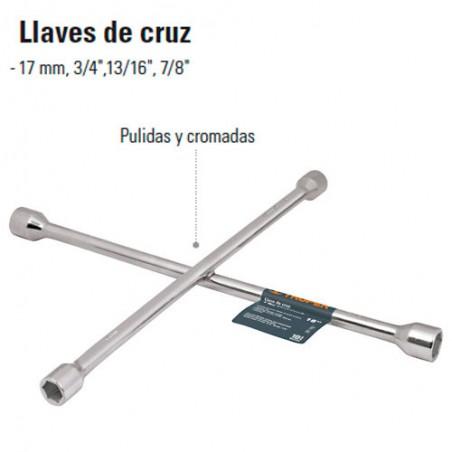 Llave de Cruz TRUPER