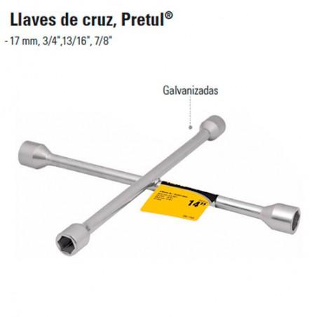 Llave de Cruz PRETUL