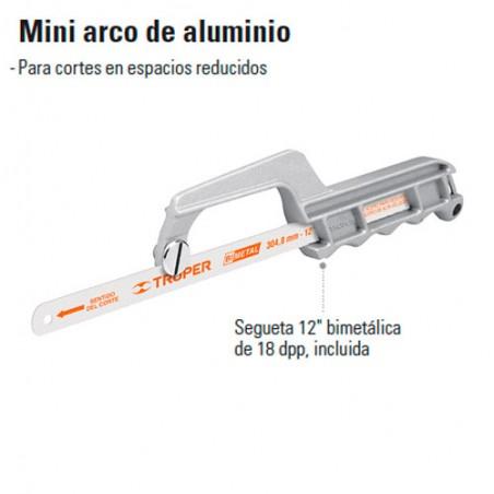 Mini Arco de Aluminio TRUPER