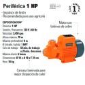 Bomba Periferica 1 HP TRUPER
