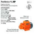 Bomba Periferica 3/4 HP TRUPER