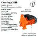 Bomba Centrifuga 2 HP TRUPER