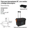 """Caja para Herramientas 25"""" TRUPER"""