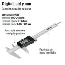 Calibrador Vernier Digital TRUPER
