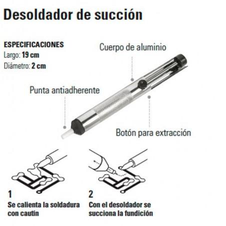 Desoldador de Succion TRUPER