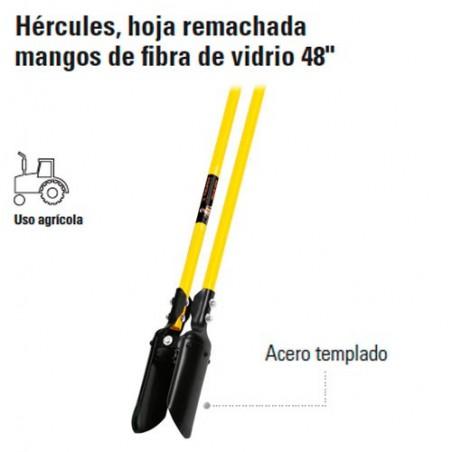 """Cavadora Hercules Mango de Fibra de Vidrio 48"""" TRUPER"""
