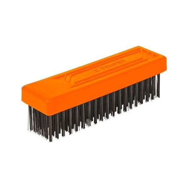 Cepillo de Alambre sin Mango 6x19 Pinceles TRUPER
