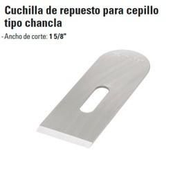 Repuesto Cepillo de Carpintero tipo Chancla TRUPER