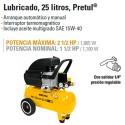 Compresor de Aire 120V 25 Litros PRETUL