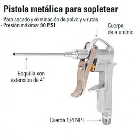 Pistolica Metalica para Sopletear TRUPER