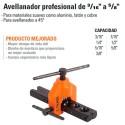 "Avellanador Profesional 3/16"" a 5/8"" TRUPER"