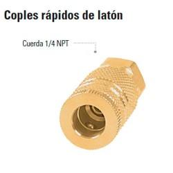 Coples Rapidos de Laton TRUPER