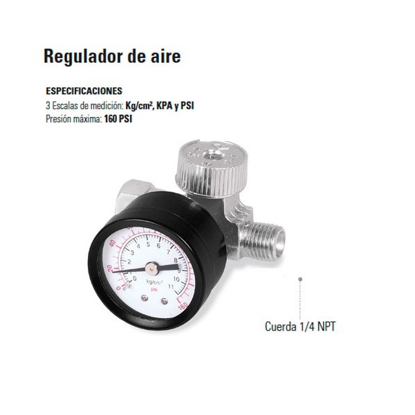 Regulador de Aire TRUPER
