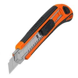 Cutter Profesional Alma Metalica 18mm TRUPER