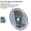 Disco de Diamante Rin Turbo TRUPER