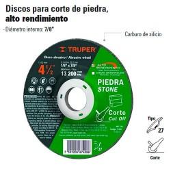 Disco Para Corte de Piedra TRUPER