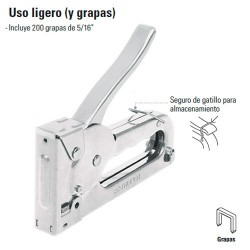 Engrapadora Uso Ligero TRUPER