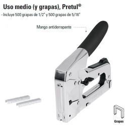 Engrapadora Uso Medio PRETUL