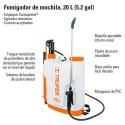 Fumigadora de Mochila 20L (5.2gal)