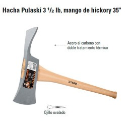 Hacha Pulaski 3 1/2 LB TRUPER