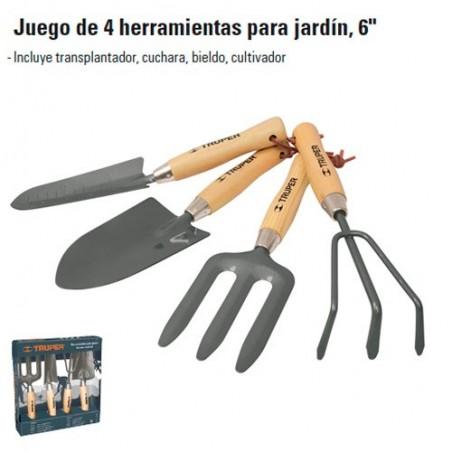 "Herramientas Para Jardin 6"" TRUPER"