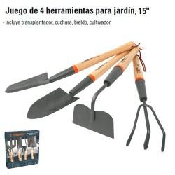 "Herramientas para Jardin 15"" TRUPER"