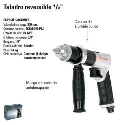 "Taladro Reversible 1/2"" Neumatico TRUPER"