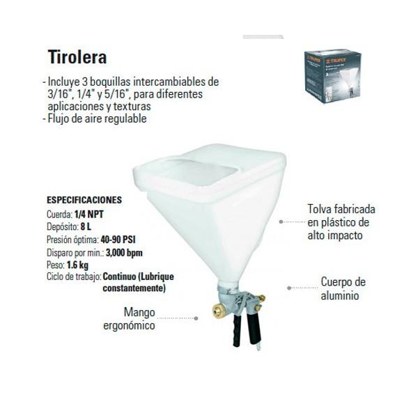 Tirolera Neumatica TRUPER